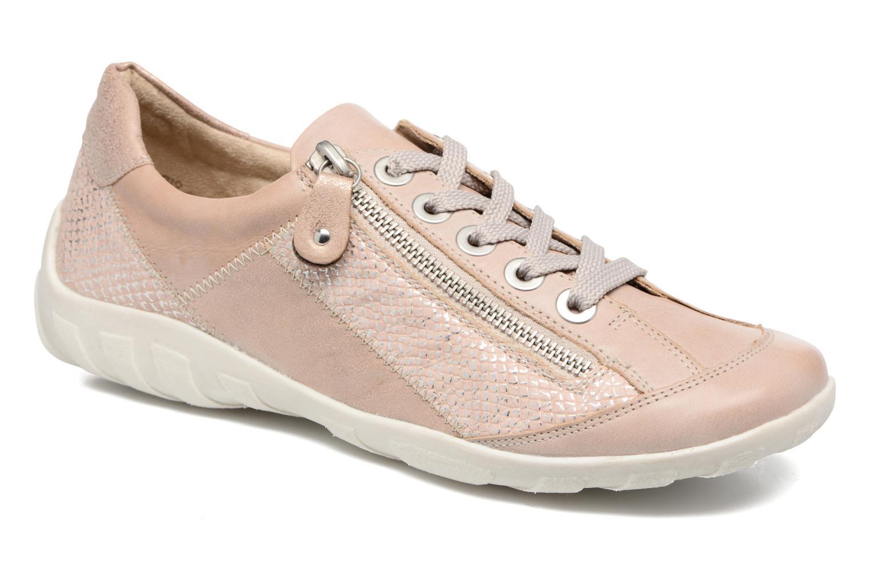 Sneakers Remonte Bora R3419 Pink detaljeret billede af skoene