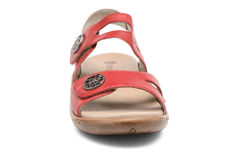 Sandales et nu-pieds Remonte Maira R8570 Rouge vue portées chaussures