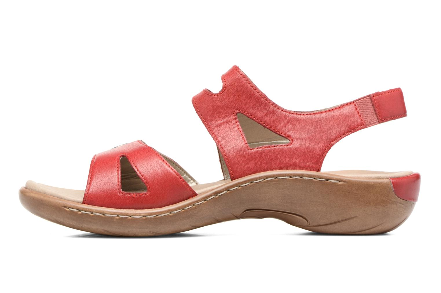 Sandals Remonte Maira R8570 Red front view