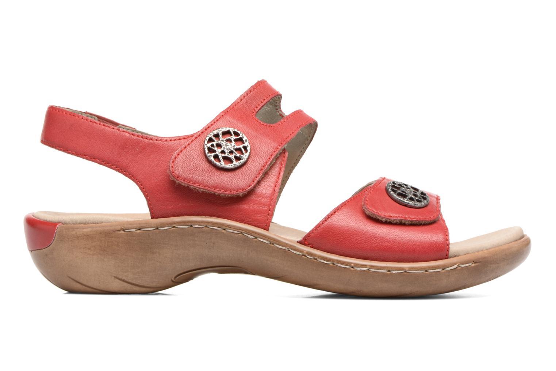 Sandales et nu-pieds Remonte Maira R8570 Rouge vue derrière