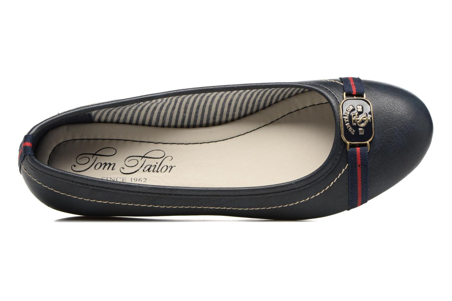 Ballet pumps Tom Tailor Naime Blue view from the left