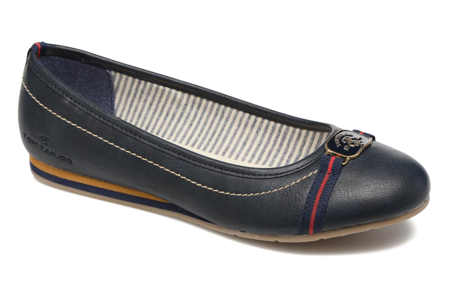 Ballet pumps Tom Tailor Naime Blue detailed view/ Pair view