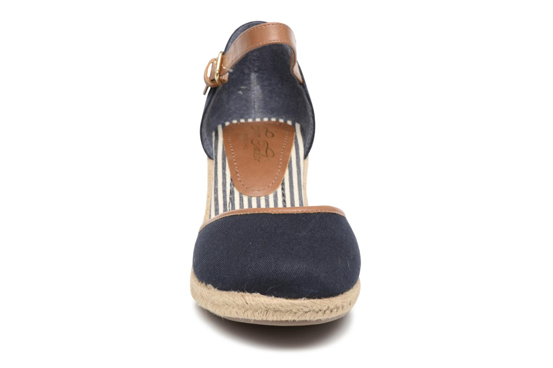Espadrilles Tom Tailor Prezzano Bleu vue portées chaussures