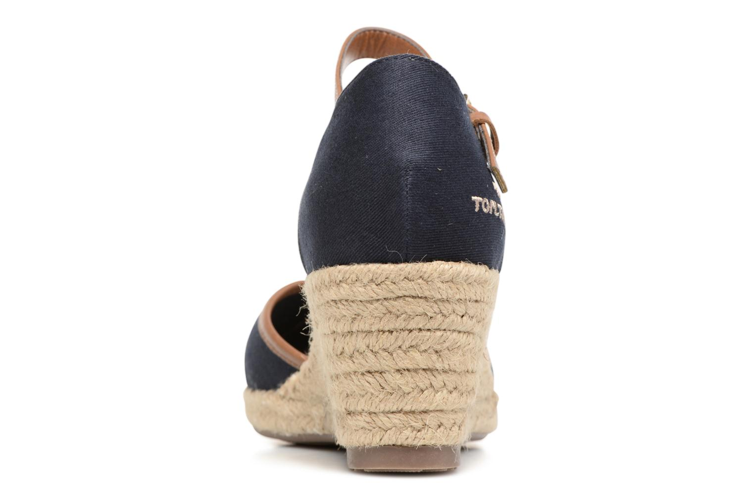 Espadrilles Tom Tailor Prezzano Blue view from the right