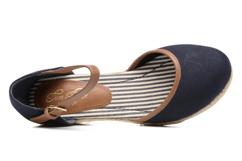 Scarpe di corda Tom Tailor Prezzano Azzurro immagine sinistra