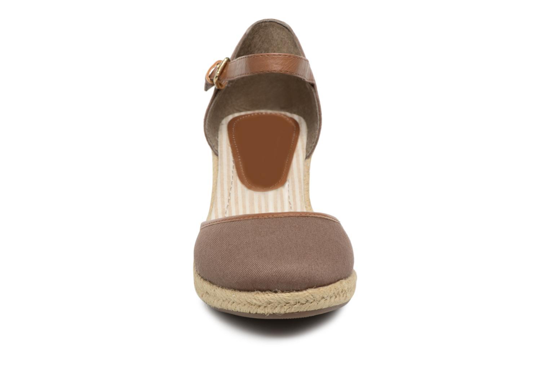 Scarpe di corda Tom Tailor Prezzano Marrone modello indossato
