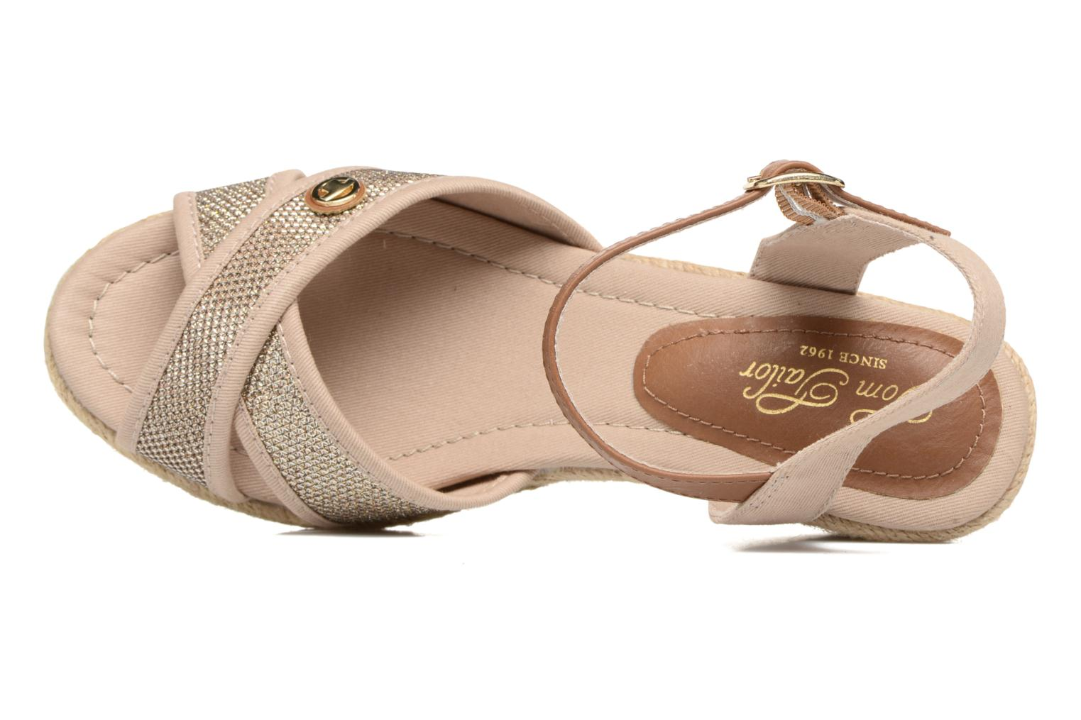 Sandals Tom Tailor Vulquin Beige view from the left