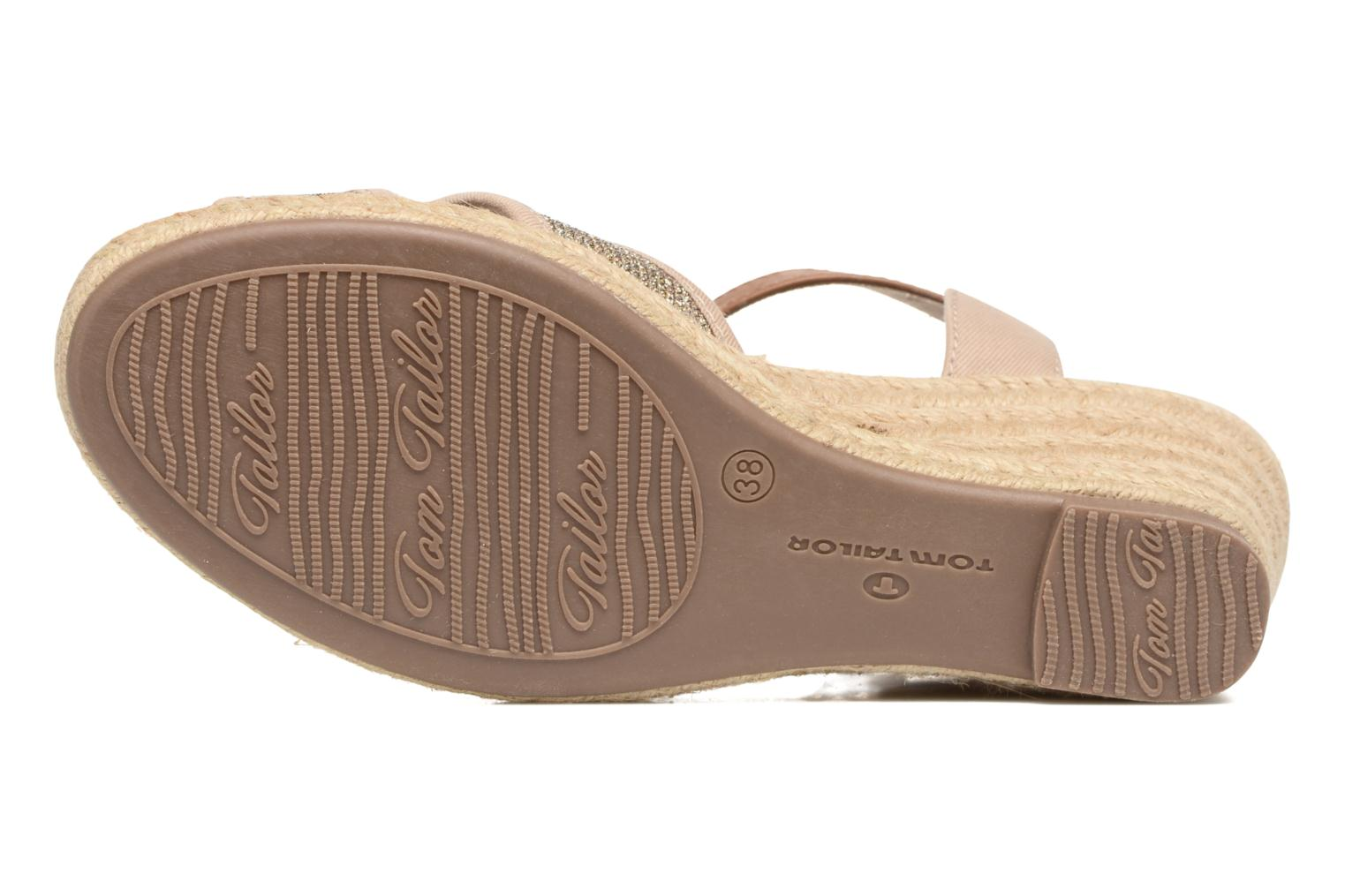 Sandals Tom Tailor Vulquin Beige view from above