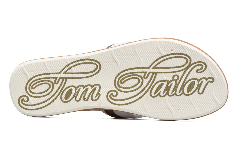 Tongs Tom Tailor Cloudy Marron vue haut