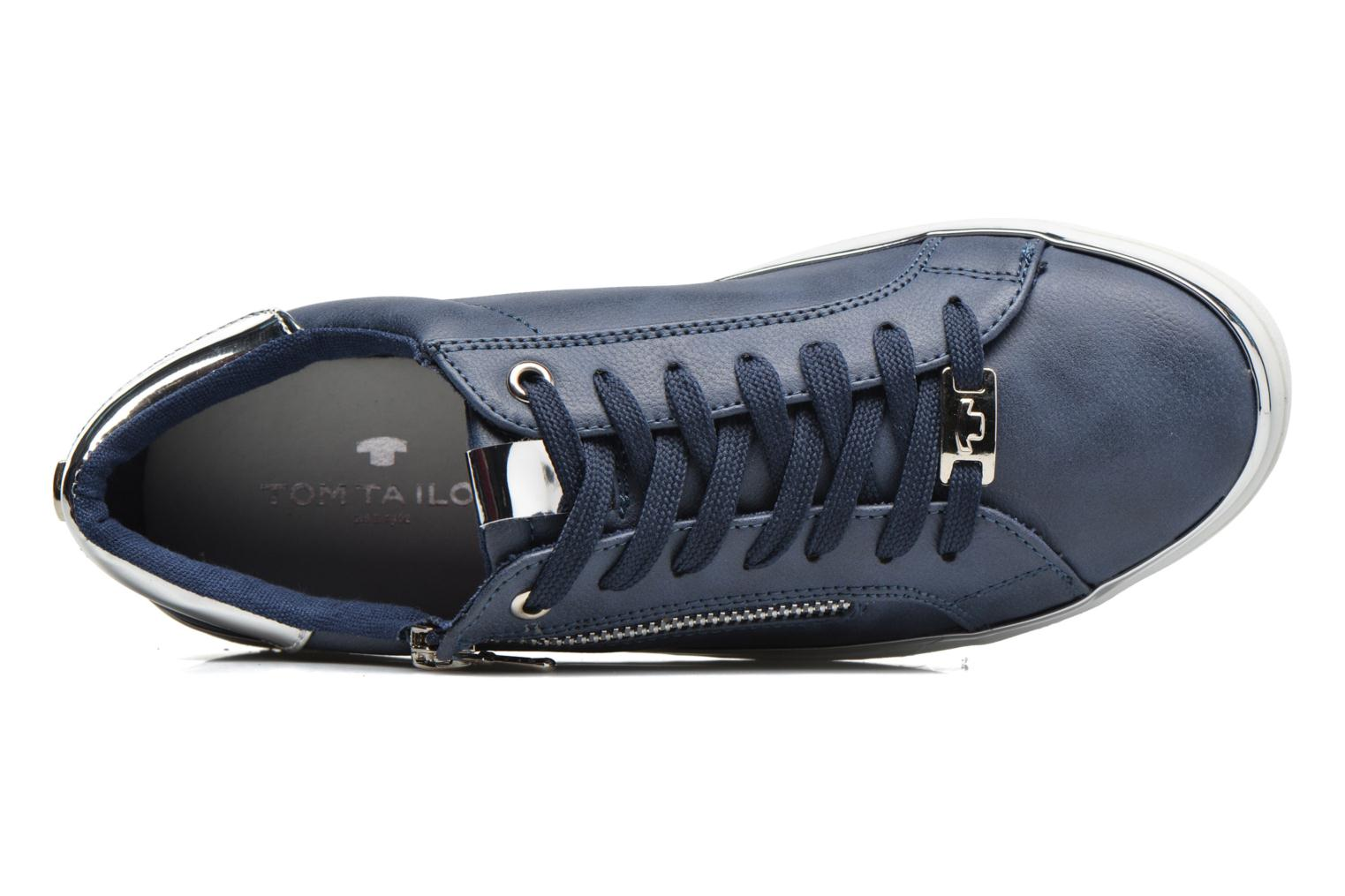 Trainers Tom Tailor Coolioo Blue view from the left