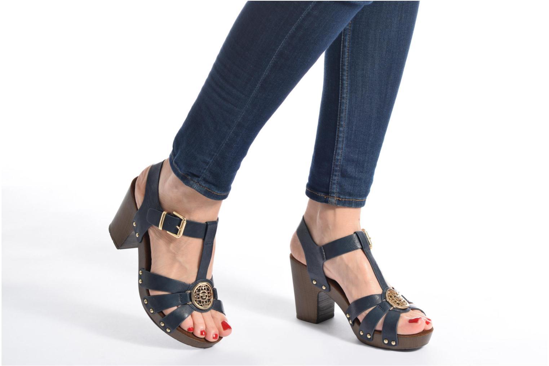 Sandales et nu-pieds Tom Tailor Kiwinas Bleu vue bas / vue portée sac