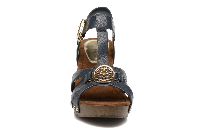 Sandales et nu-pieds Tom Tailor Kiwinas Bleu vue portées chaussures