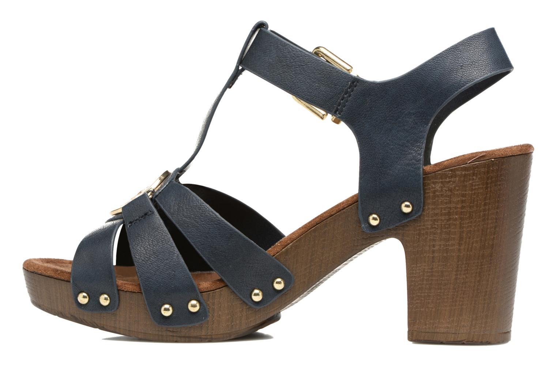 Sandales et nu-pieds Tom Tailor Kiwinas Bleu vue face