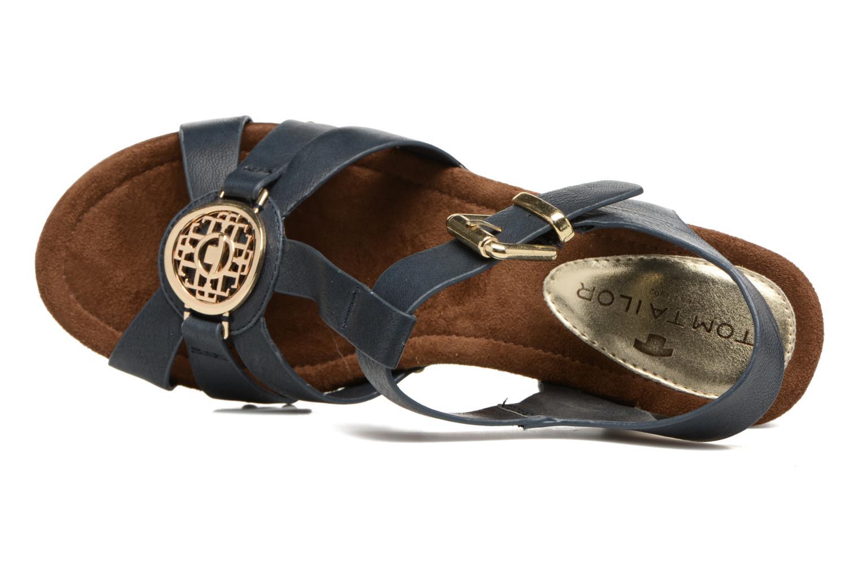 Sandales et nu-pieds Tom Tailor Kiwinas Bleu vue gauche