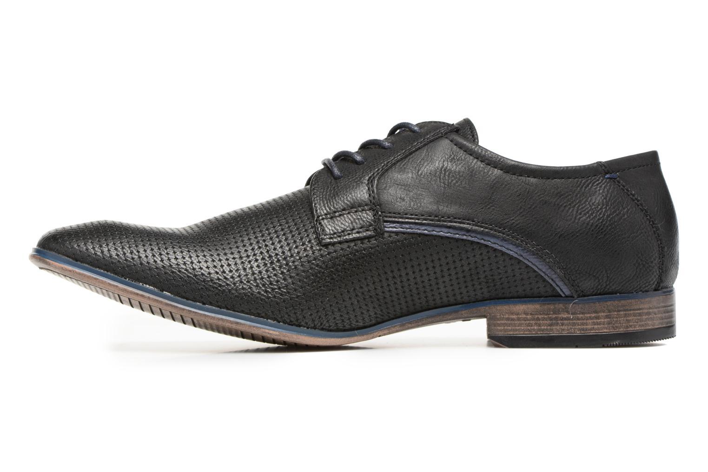Chaussures à lacets Tom Tailor Kobby Noir vue face