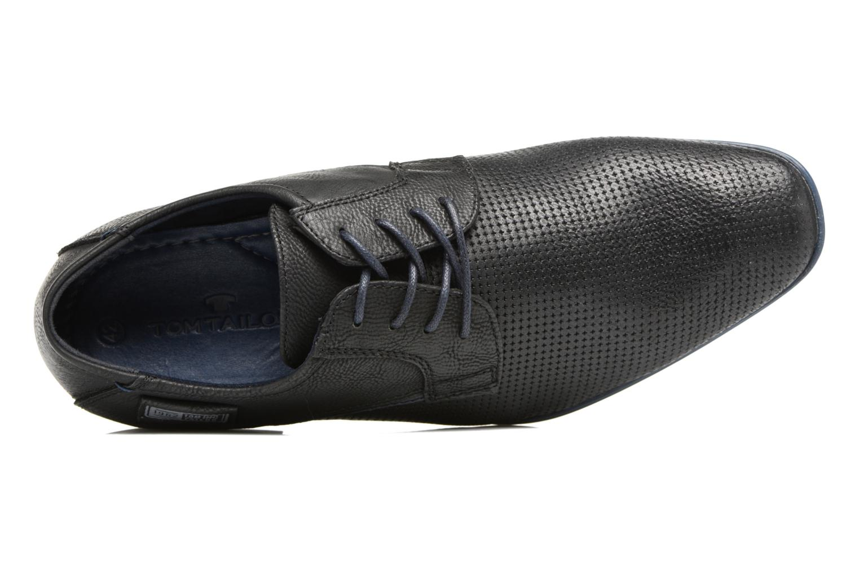 Chaussures à lacets Tom Tailor Kobby Noir vue gauche