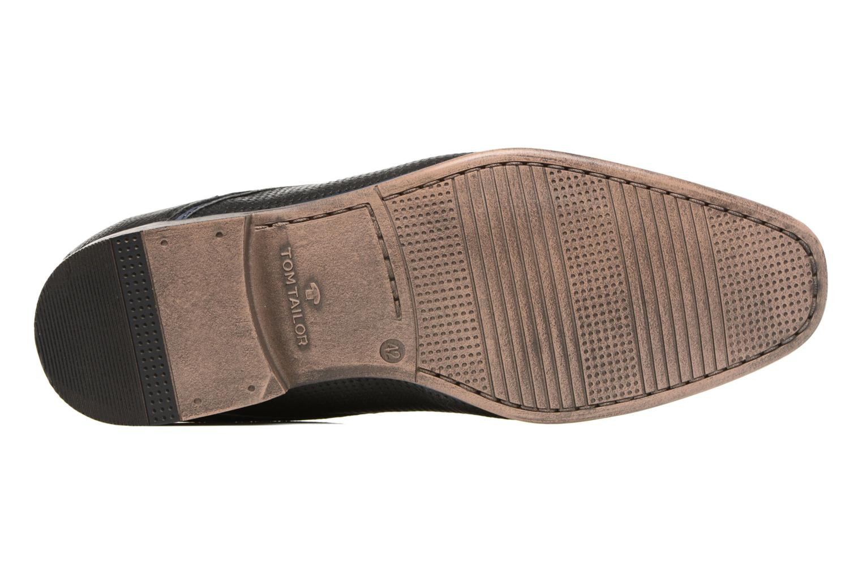 Chaussures à lacets Tom Tailor Kobby Noir vue haut