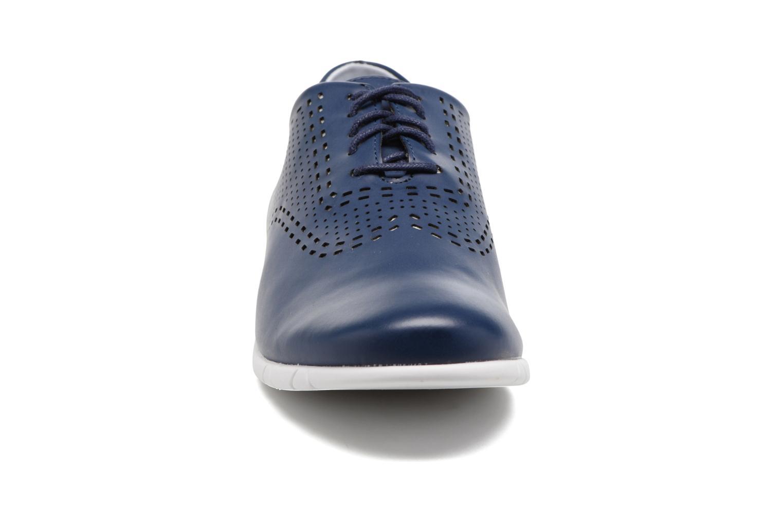 Chaussures à lacets Kickers Becki Bleu vue portées chaussures
