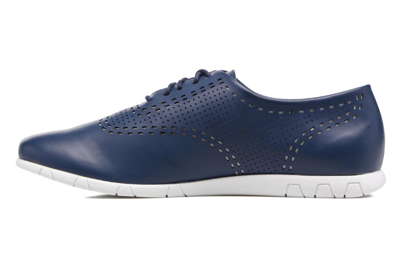 Chaussures à lacets Kickers Becki Bleu vue face