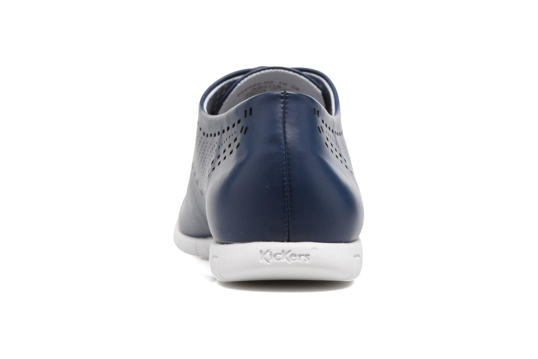 Chaussures à lacets Kickers Becki Bleu vue droite
