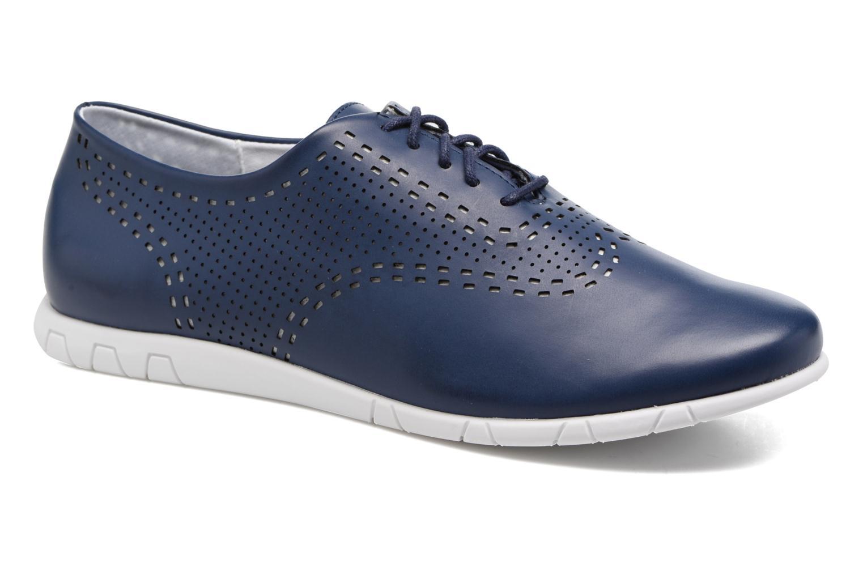 Chaussures à lacets Kickers Becki Bleu vue détail/paire