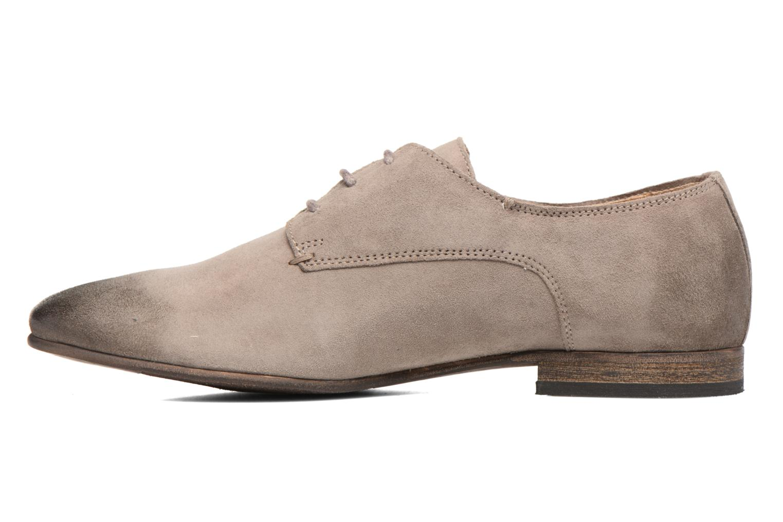 Chaussures à lacets Kickers Galla Beige vue face