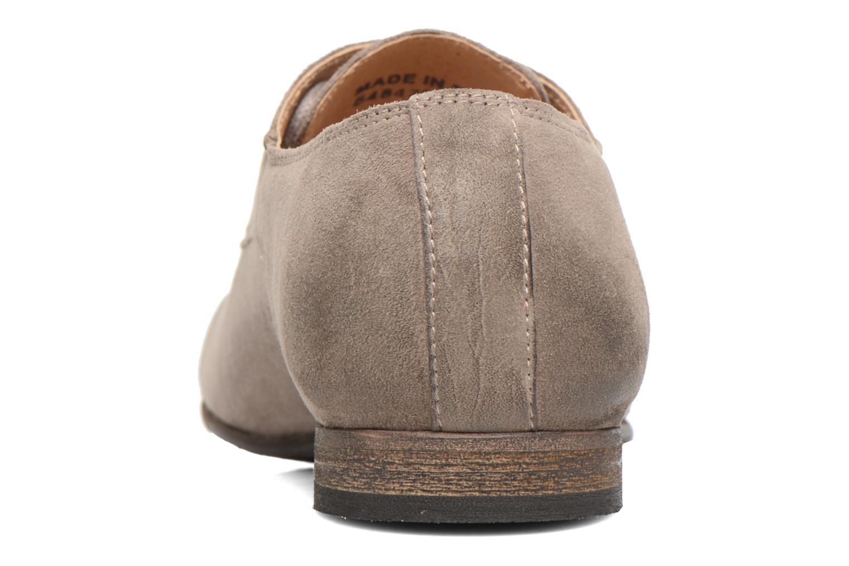 Chaussures à lacets Kickers Galla Beige vue droite
