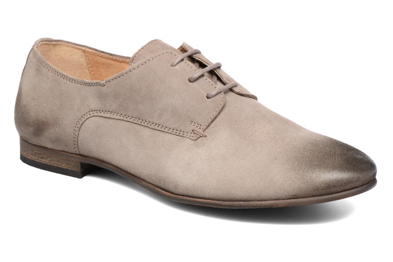 Chaussures à lacets Kickers Galla Beige vue détail/paire