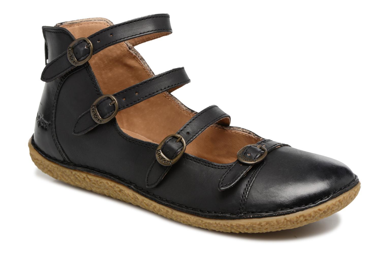 Grandes descuentos últimos zapatos Kickers Honoree (Negro) - Bailarinas Descuento