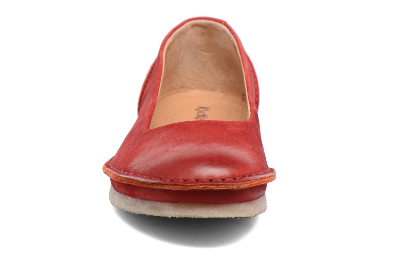 Ballerinas Kickers Mybalerina rot schuhe getragen