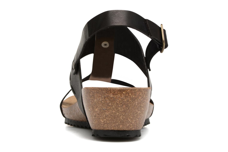 Sandales et nu-pieds Kickers Tokali Noir vue droite