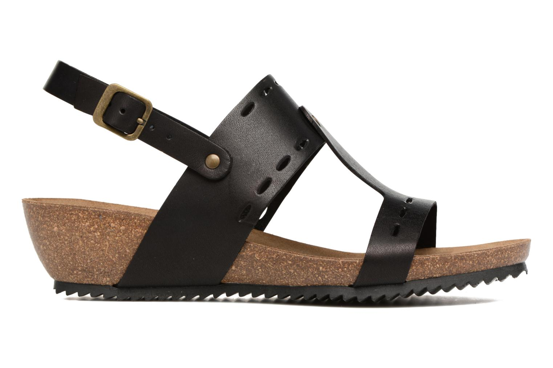 Sandales et nu-pieds Kickers Tokali Noir vue derrière
