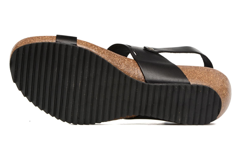 Sandales et nu-pieds Kickers Tokali Noir vue haut