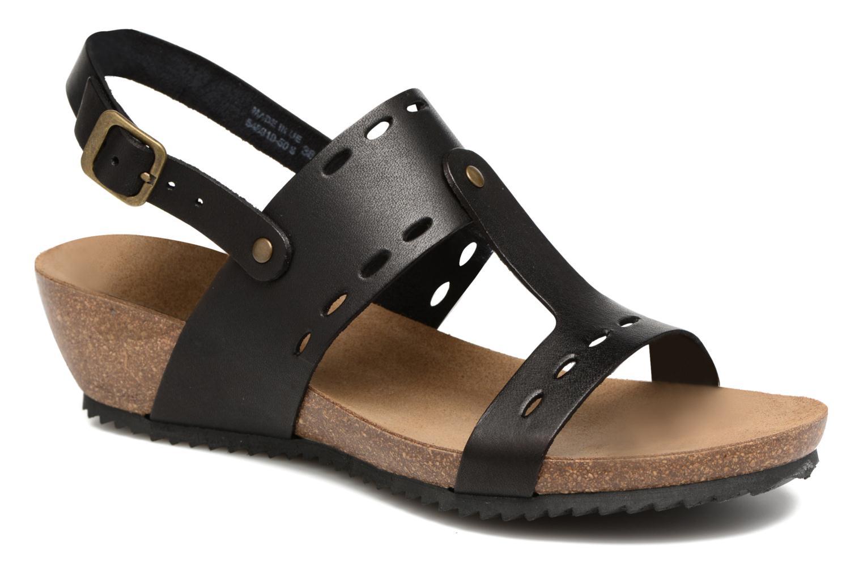 Sandales et nu-pieds Kickers Tokali Noir vue détail/paire