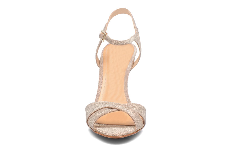 Sandales et nu-pieds COSMOPARIS Alia/Diam Or et bronze vue portées chaussures