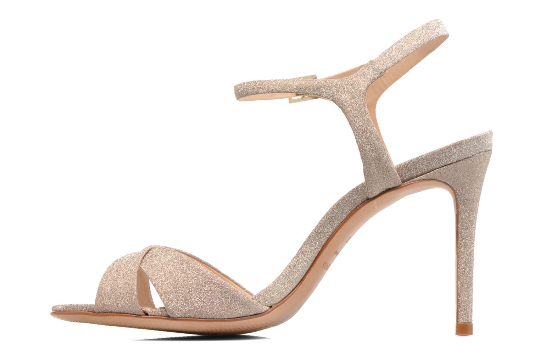 Sandales et nu-pieds COSMOPARIS Alia/Diam Or et bronze vue face
