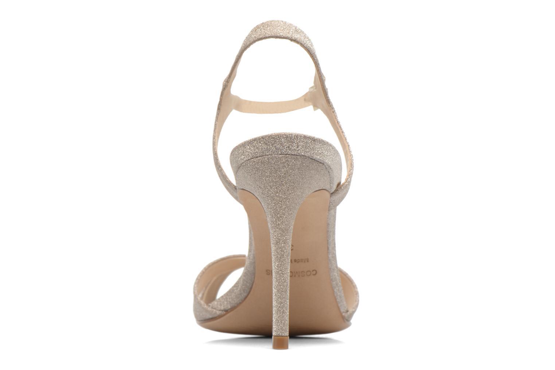 Sandales et nu-pieds COSMOPARIS Alia/Diam Or et bronze vue droite
