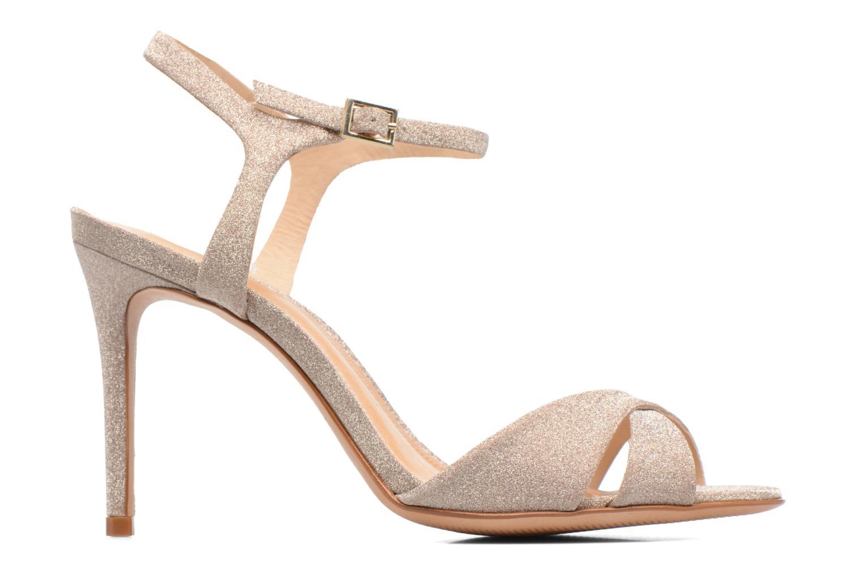 Sandales et nu-pieds COSMOPARIS Alia/Diam Or et bronze vue derrière