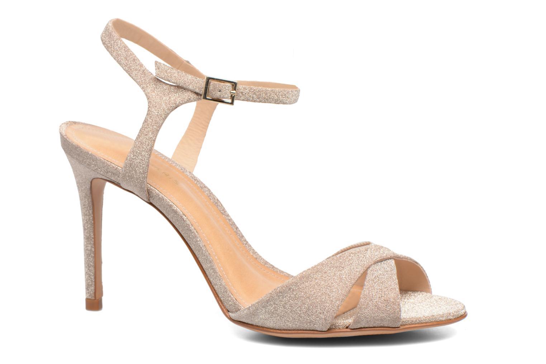 Sandals COSMOPARIS Alia/Diam Bronze and Gold detailed view/ Pair view