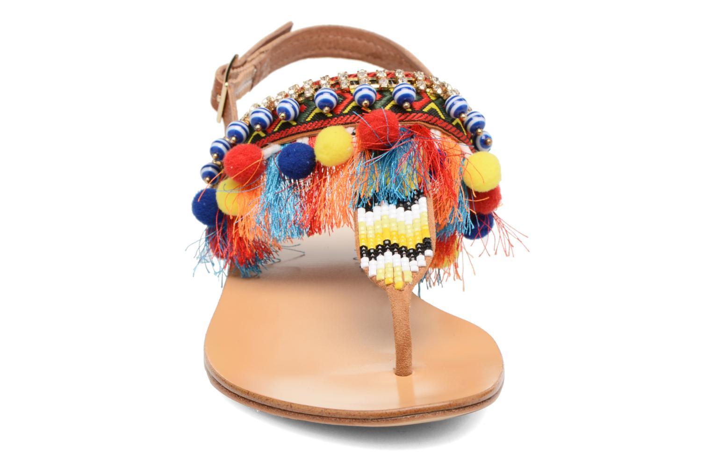 Sandales et nu-pieds COSMOPARIS Hipi Multicolore vue portées chaussures