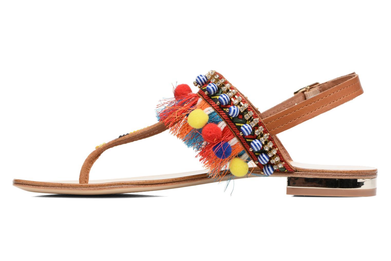 Sandales et nu-pieds COSMOPARIS Hipi Multicolore vue face