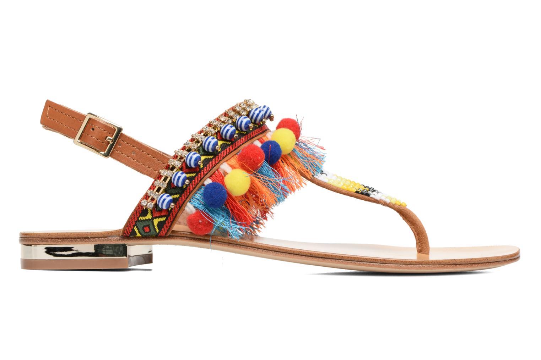Sandales et nu-pieds COSMOPARIS Hipi Multicolore vue derrière