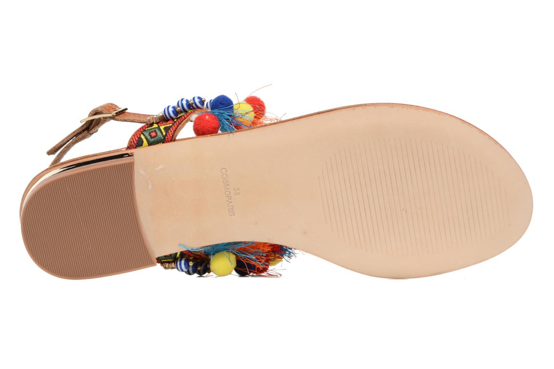 Sandales et nu-pieds COSMOPARIS Hipi Multicolore vue haut