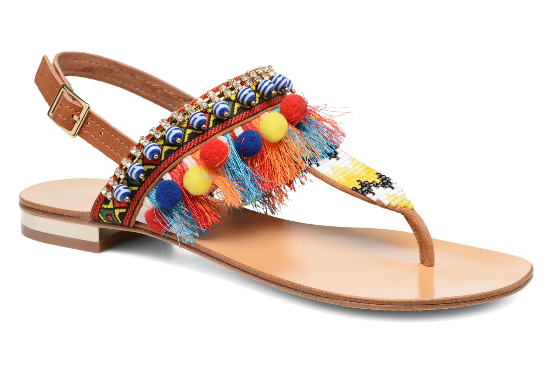 Sandales et nu-pieds COSMOPARIS Hipi Multicolore vue détail/paire