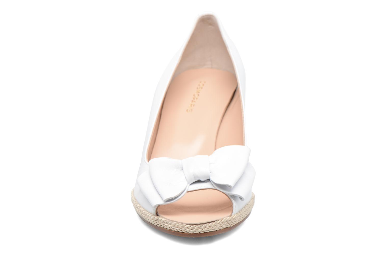 Zapatos de tacón COSMOPARIS Loena Blanco vista del modelo