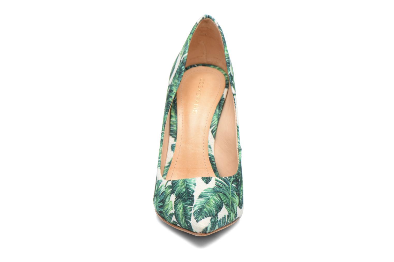 Escarpins COSMOPARIS Aelia/Tropic Vert vue portées chaussures
