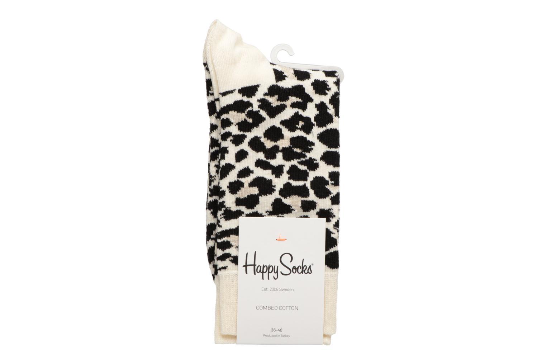 Medias y Calcetines Happy Socks Chaussettes Leopard Multicolor vista del modelo