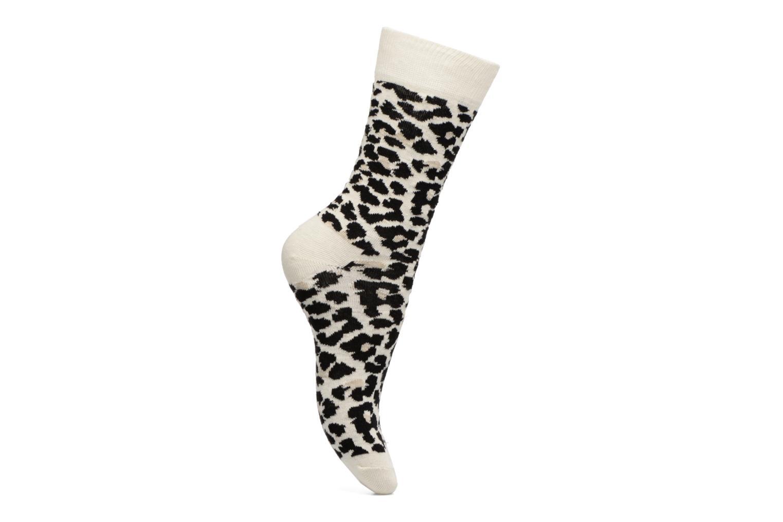 Chaussettes Leopard White