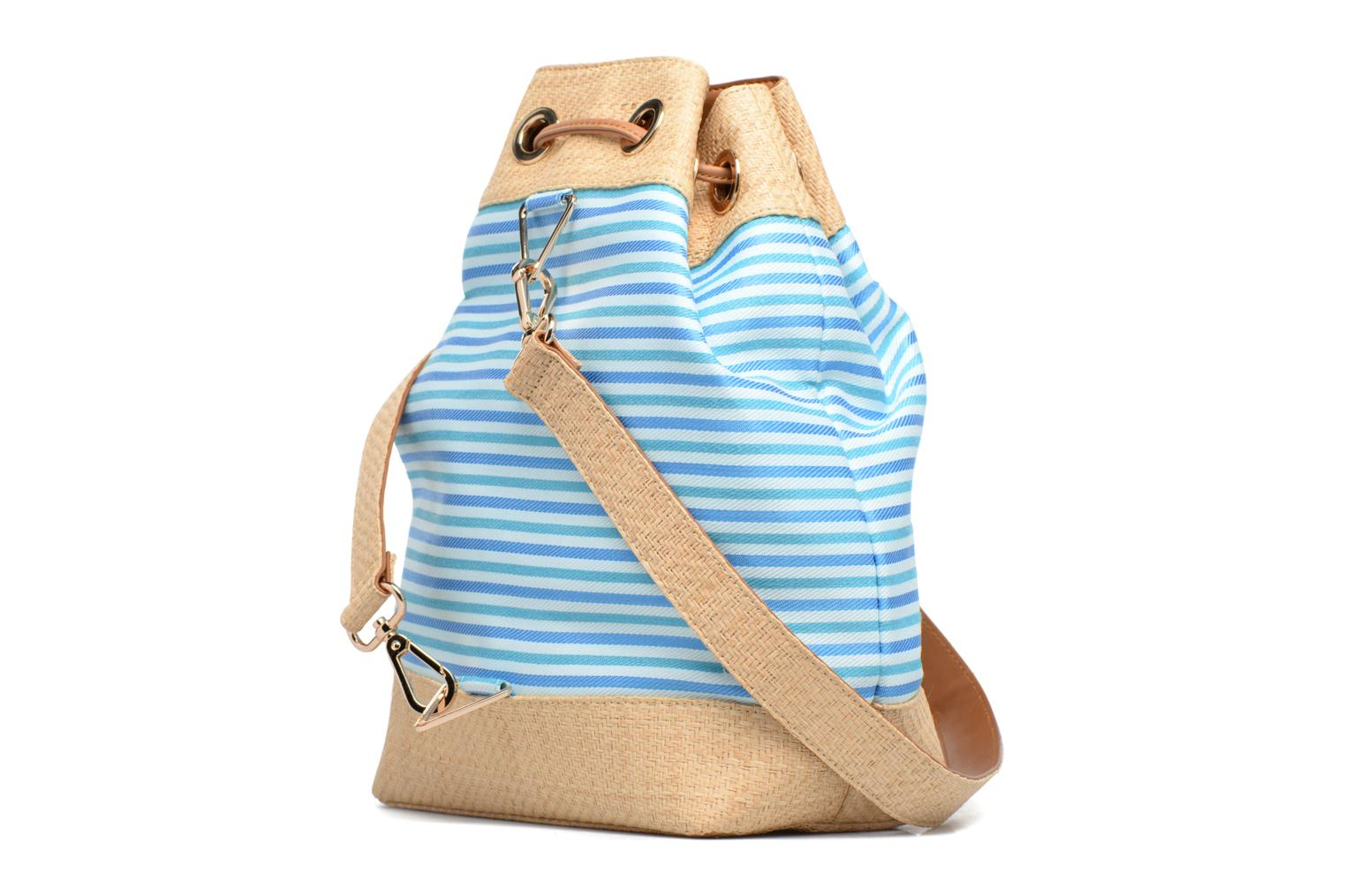 Handbags Mellow Yellow BUNA Blue view from the right