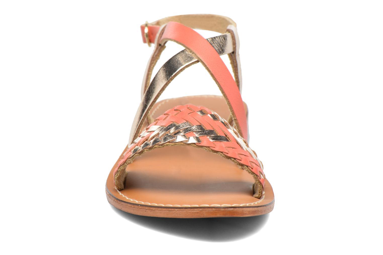 Sandales et nu-pieds L'Atelier Tropézien Suzanne Multicolore vue portées chaussures